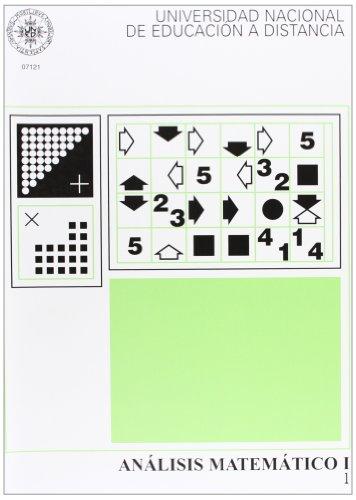 Análisis Matemático I. Vol. 1 y 2 (UNIDAD DIDÁCTICA)