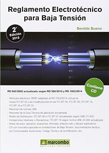 Reglamento Electrotecnico Para Baja Tension - Edición 2 (+CD) (Electronica)