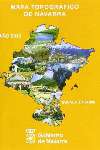Mapa Topográfico De Navarra 1:400000