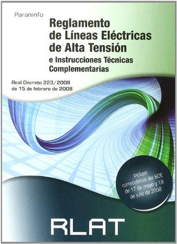 RLAT. Reglamento de líneas eléctricas de alta tensión