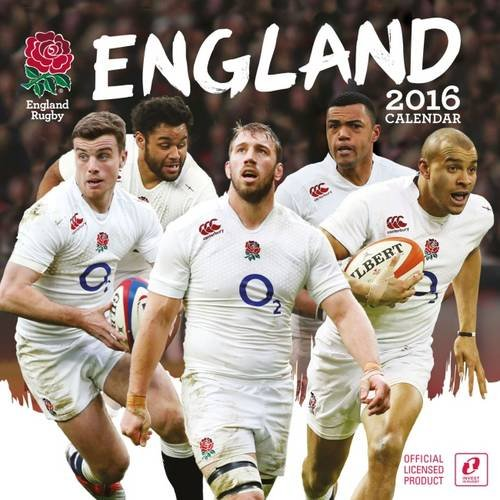 The Official England Rugby Union 2016 A3 Calendar (Calendar 2016)