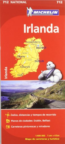 Mapa National Irlanda (Mapas National Michelin)