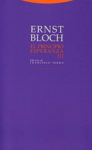 El Principio Esperanza I (Estructuras y Procesos. Filosofía)
