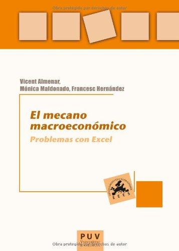 El mecano macroeconómico: Problemas con Excel (Educació. Laboratori de Materials)
