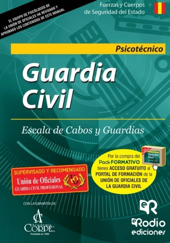 Guardia Civil. Escala de Cabos y Guardias. Psicotécnico (OPOSICIONES)