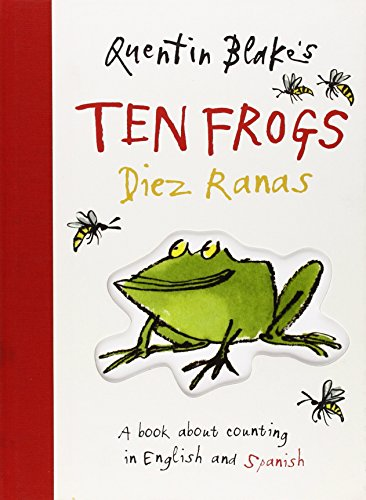 Quentin Blake's Ten Frogs/diez Ranas (English & Spanish Edition)