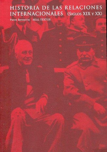 Historia de las relaciones internacionales (Textos)